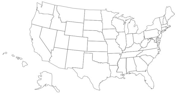 Geo-map-USA-contour
